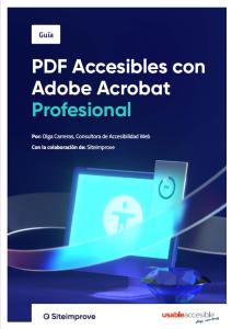 PDF accesibles con Adobe Acrobat Profesional.