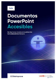 Documentos PowerPoint accesibles